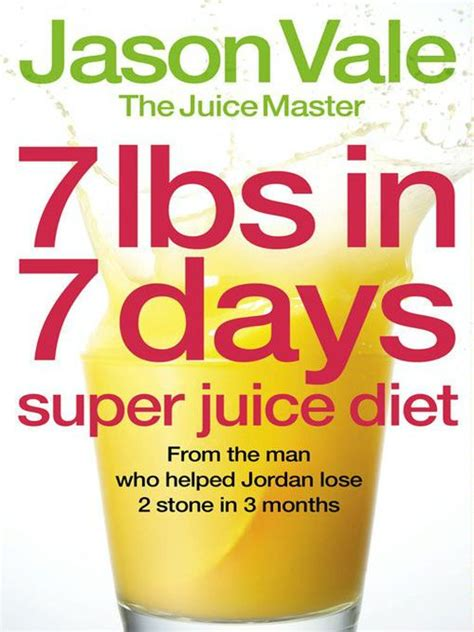 Juicer 7 In One 7lbs in 7 days juice diet reviews productreview au