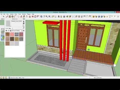tutorial google sketchup desain rumah full download tutorial desain rumah minimalis google