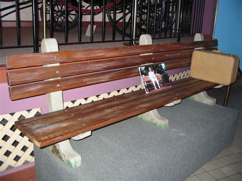 savannah history museum forrest gump bench rejs photos usa 2005 savannah