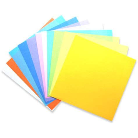 Solid Origami Paper - origami paper solid pastels 60 assorted shts 6 quot x 6 quot