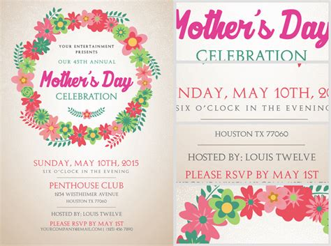 mother s day flyer template flyerheroes