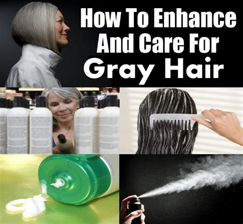 how to care for thick gray hair on over sixty woman care for gray hair