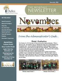 november newsletter template monthly newsletter sle church monthly newsletter