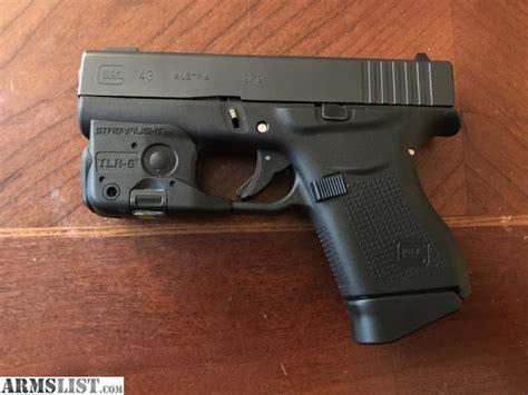 light for glock 43 armslist for sale glock 43 streamlight tlr 6
