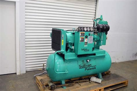 lot 23 sullivan palatek 25hp air compressor wirebids