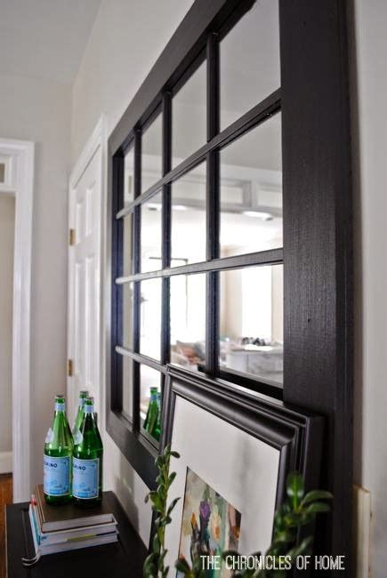 diy windowpane mirror the chronicles of home