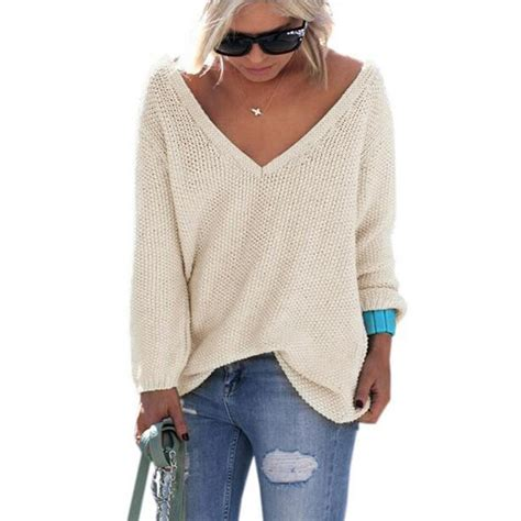 Cardigan Pull And pullover sleeve v neck sweaters and pullovers womens autumn sweater pull femme 2016
