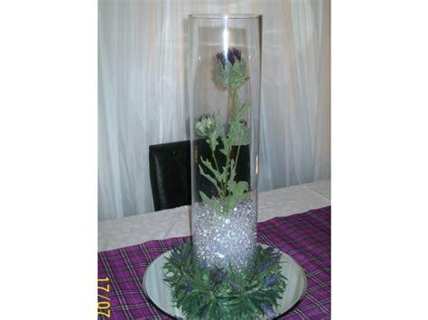 scottish themed wedding corporate table decorations