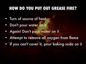 How To Put Out A Grease In The Kitchen by Food And Kitchen Safety Procedures By Francisca Kessie