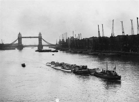 thames river in france some of the little ships used during the evacuation of