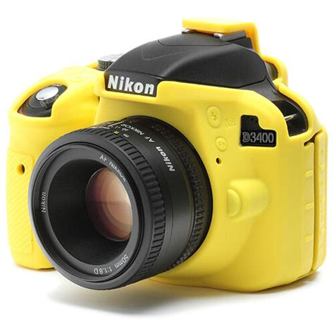 silicone cover for nikon d3400 lcd screen protector yellow ebay