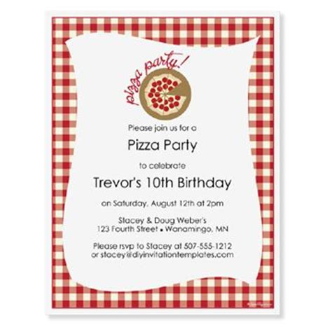 pizza invitation template pizza pizza and products on