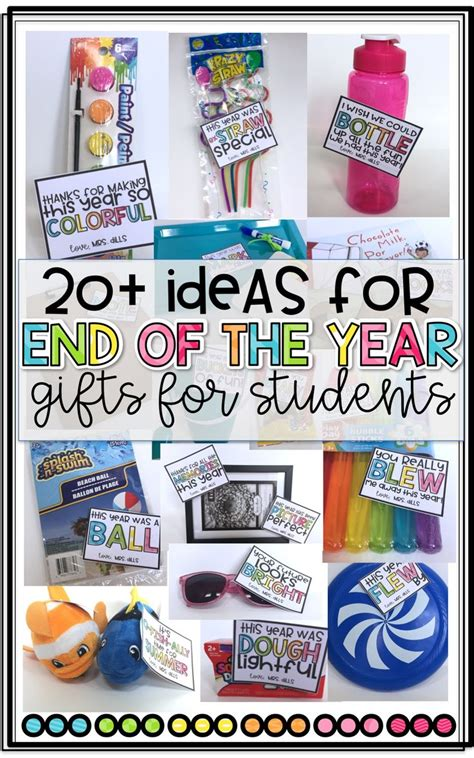 fun gifts for students during student teaching 20 ideas for end of the year gifts for students from teachers easy and inexpensive ideas