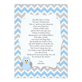 Baby Shower Poem For Boy by Baby Boy Poems