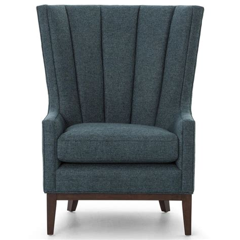 classic wing armchair classic wing fabric armchair russcarnahan