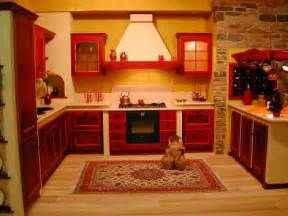 Red Kitchen Decor by Kitchen Ideas On Pinterest Rustic Kitchens Red Kitchen
