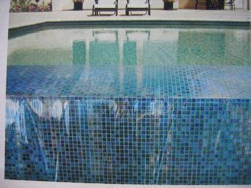 Tiles Ideas mixed pacific blue glimmer glass tile in an infinity edge