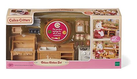 Calico Critters Kitchen by Calico Critters Deluxe Kitchen Set New Ebay