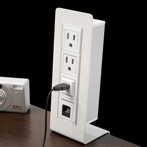 In Desk Power And Data Outlet by Axil Y Vertical Removable Power Data Center Voice And