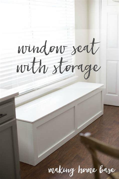 build  window seat  storage diy tutorial