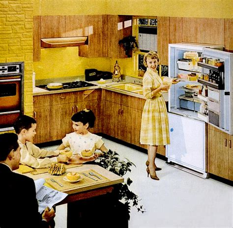 1960 s kitchen mid century living kitchens 1960 65