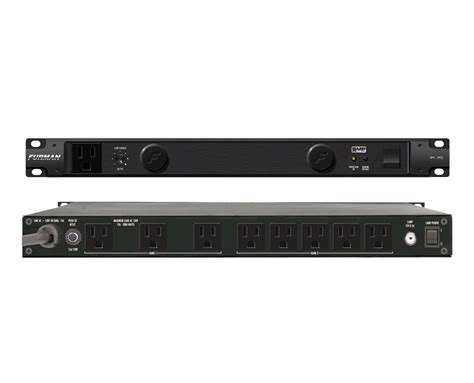 Furman Rack Mount Power by Furman Pl 8c Power Conditioner 9 Outlet 15 Rack