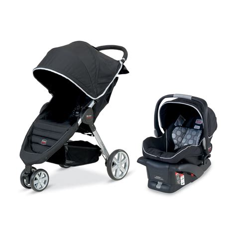 car seat adapter for britax b agile the b agile travel system stroller from britax on