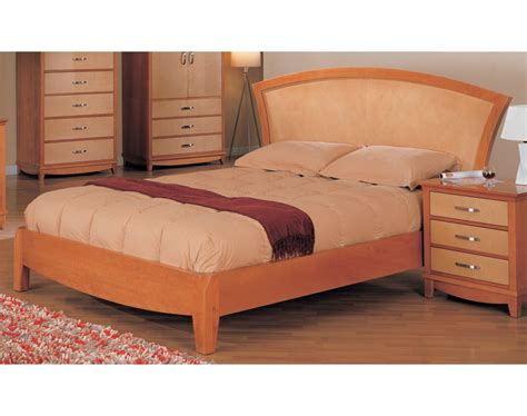 maple bedroom set julie bedroom set maple light cherry finish