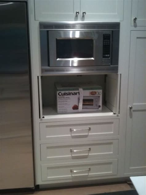kitchen cabinet appliance garage 17 best images about new home kitchens on pinterest