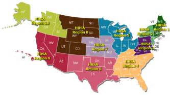 dgis reports hrsa region map