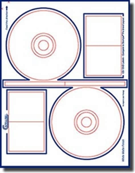 clear printable label sheets 200 compulabel 174 375063 photo clear inkjet printable cd