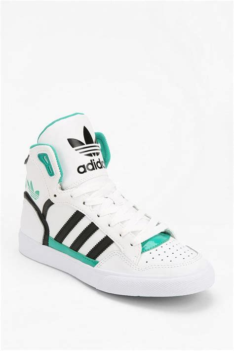 adidas extaball leather high top sneaker all types of shoes superstar