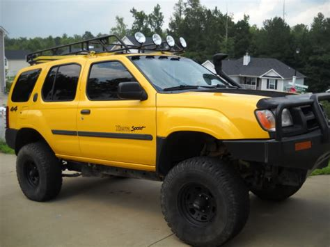 2000 Nissan Xterra Lift Kit by Lifted 2000 Xterra Bull Bumpe Aftermarket Roof Rack With