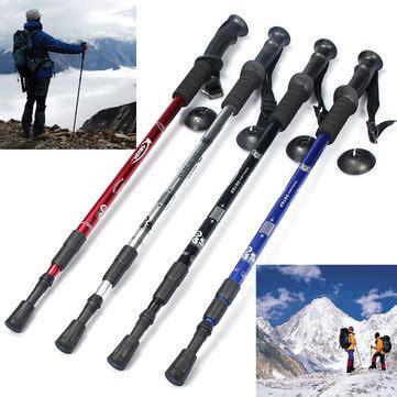 Trekking Pole Eiger 3 Section ultra light handle 3 section adjustable canes walking hiking sticks trekking pol us 9 59