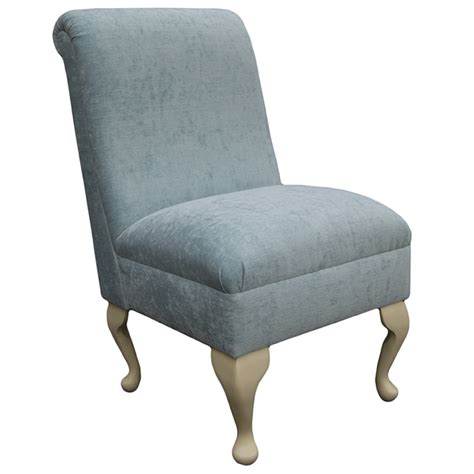 Duck Egg Blue Bedroom Chair by Beaumont Furnishings