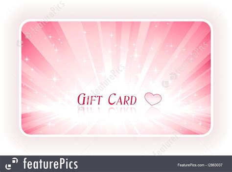 Romantic Gift Cards - illustration of romantic gift card