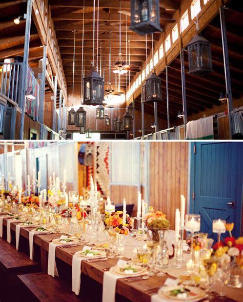 decorating ideas for wedding reception tables barn wedding decorations tanarievents