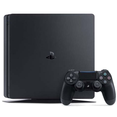Ps 4 Ps4 Slim 500 Gb Silver Original Garansi Resmi Sony Pes 2018 sony playstation 4 slim 500gb jet black