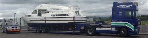 boat transport truck boat transport haulage kennedy boat haulage ireland