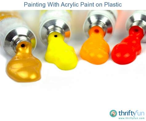 acrylic paint for plastic painting with acrylic paint on plastic thriftyfun