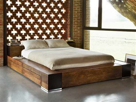 bedroom platform bed frame queen queens with size