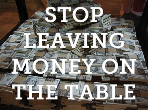 money on the table 5 ways financial advisors are leaving money on the table