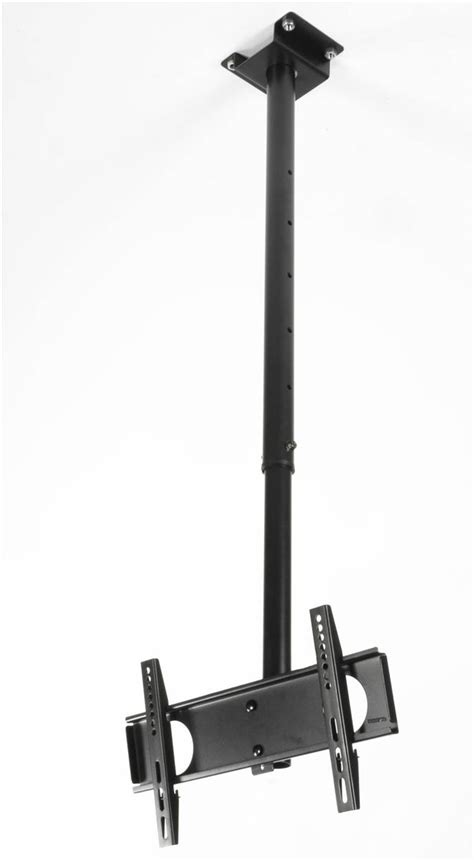 lcd ceiling bracket with adjustable pole arm rotates and tilts