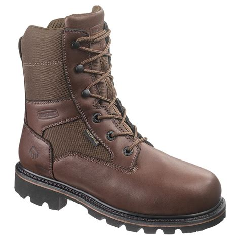 wolverine s boots wolverine s 8 quot novack waterproof insulated