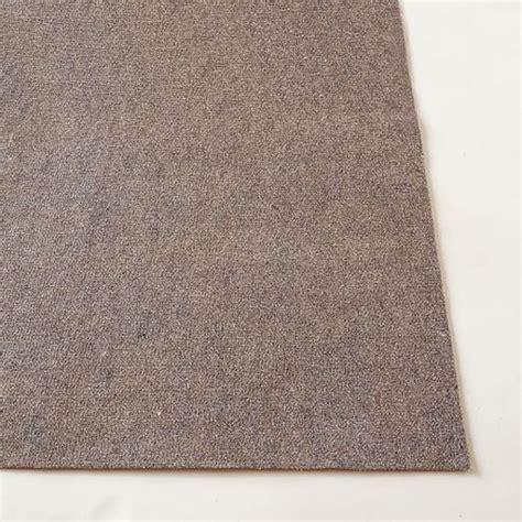 premium rug pad premium rug pad west elm