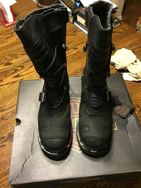 motorcycle riding boots for sale harley davidson mens 10 quot tall axel motorcycle riding