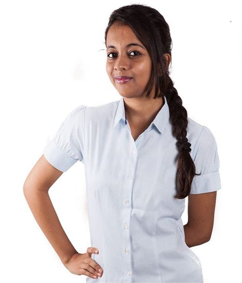 Blue Lui buy et lui blue cotton blend shirts at best