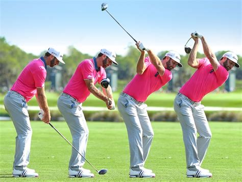 dustin johnson golf swing news bunkered golf club