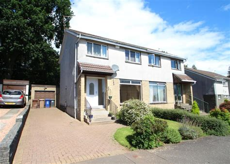 3 Bedroom House Johnstone 3 Bedroom Semi Detached House For Sale In Neuk Crescent