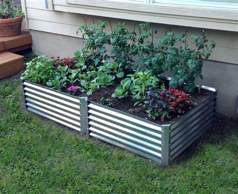 metal garden beds 17 best images about metal garden beds on pinterest